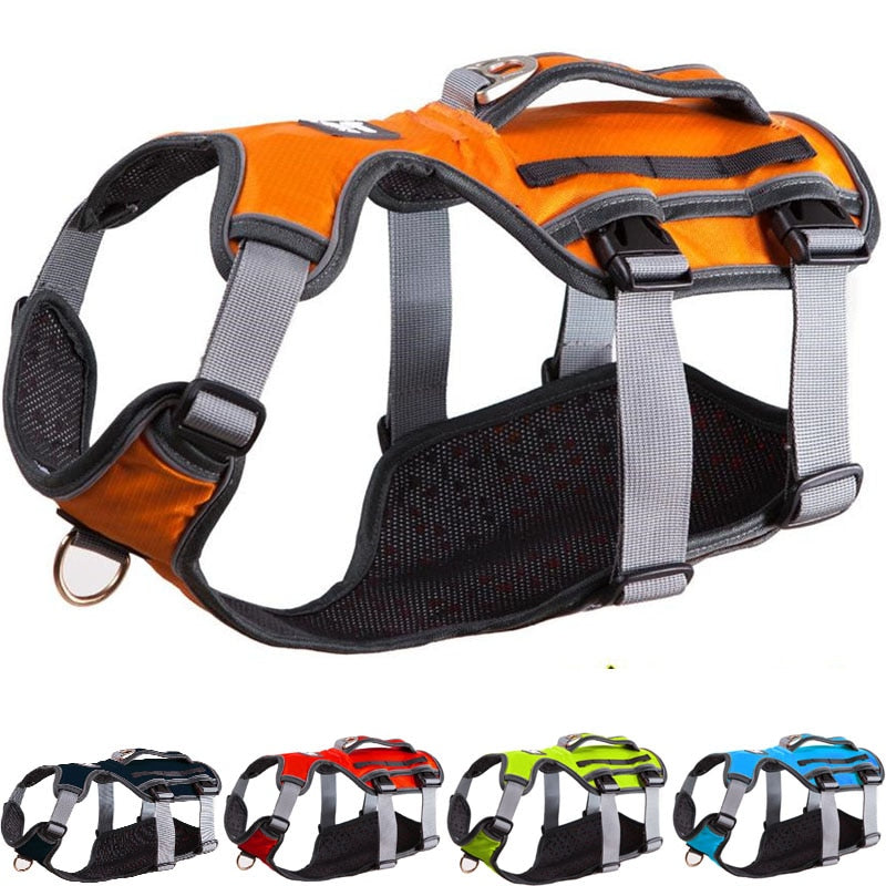 Dog Harness Training Vest For Medium & Big Dogs