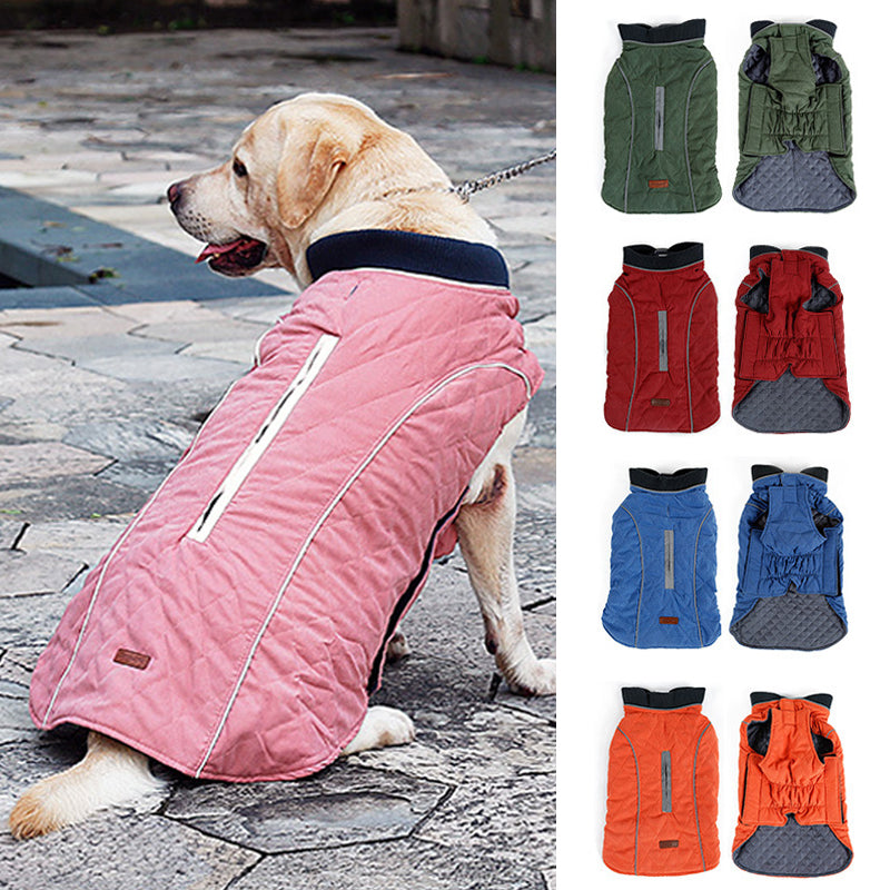 Reflective Pet Dog Coat Jackets for Large Dogs