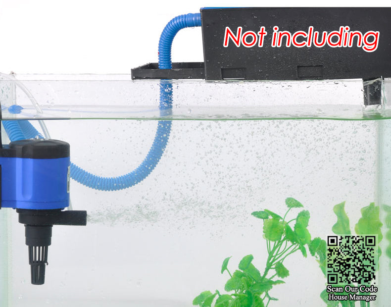 3in1 aquarium filter pump