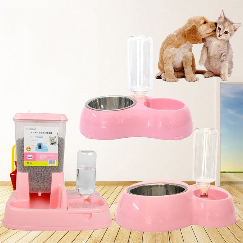 Pet Automatic Feeder & Drinking Bowl