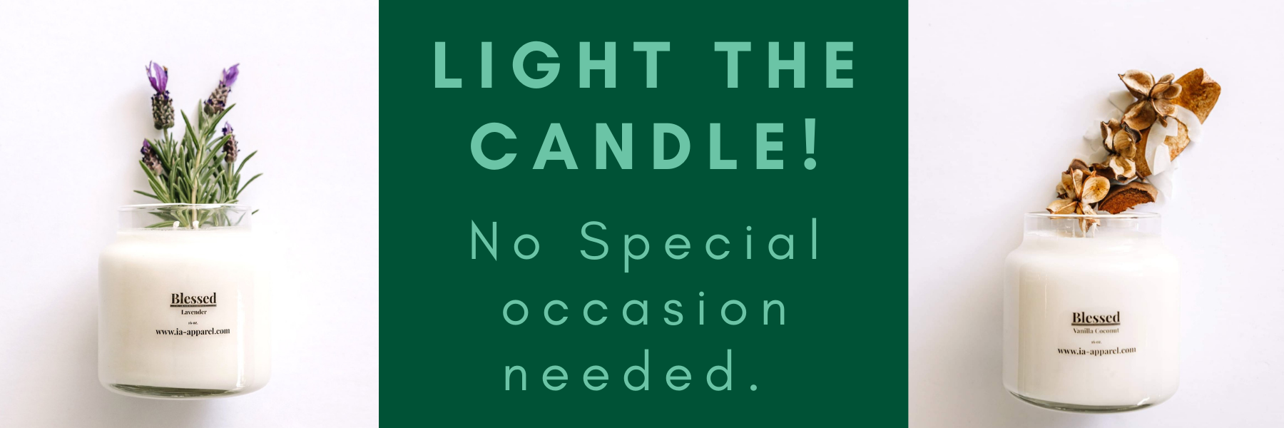 Shop IA Candle Collection