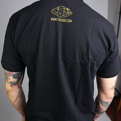 TheNug Men's Gold Logo Tee