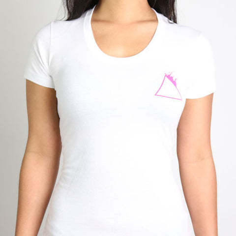Fuck Pink Women's Triangle Tee