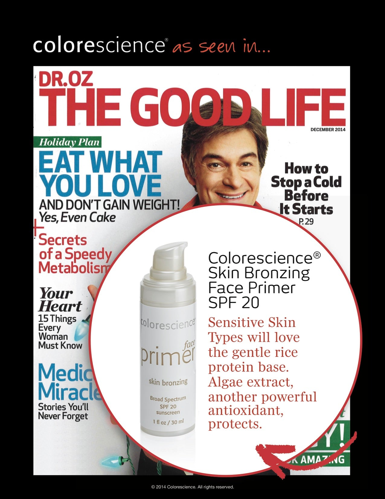 Skin Bronzing Face Primer - Dr. Oz The Good Life