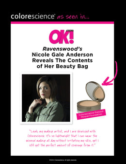 Ravenswood's Nicole Anderson Reveals Her Makeup Bag