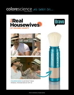 Colorescience on Real Housewives of Orange County