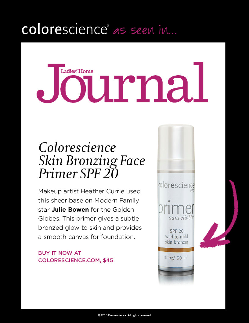 Skin Bronzing Face Primer on Julie Bowen