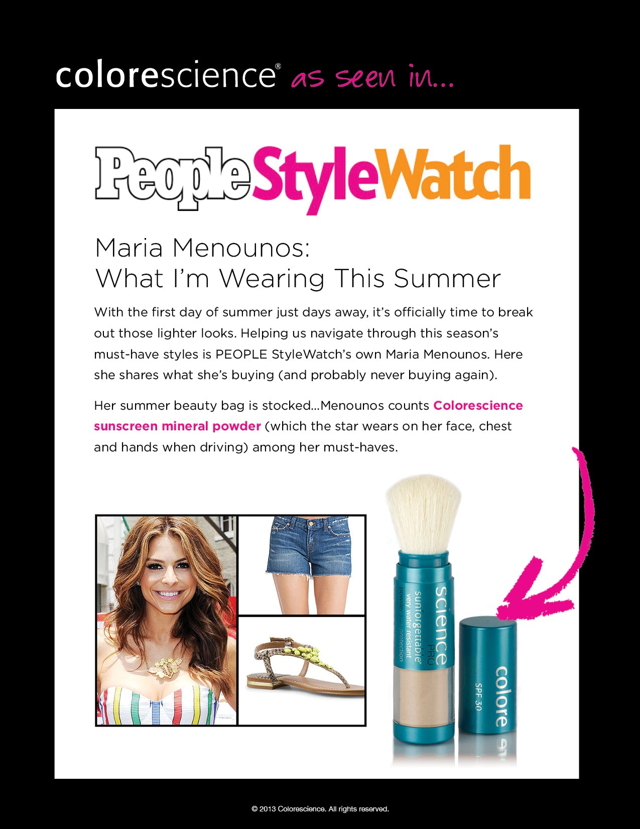 People Style Watch - Maria Menounos