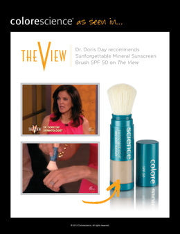 Dermatologist Dr. Doris Day on The View