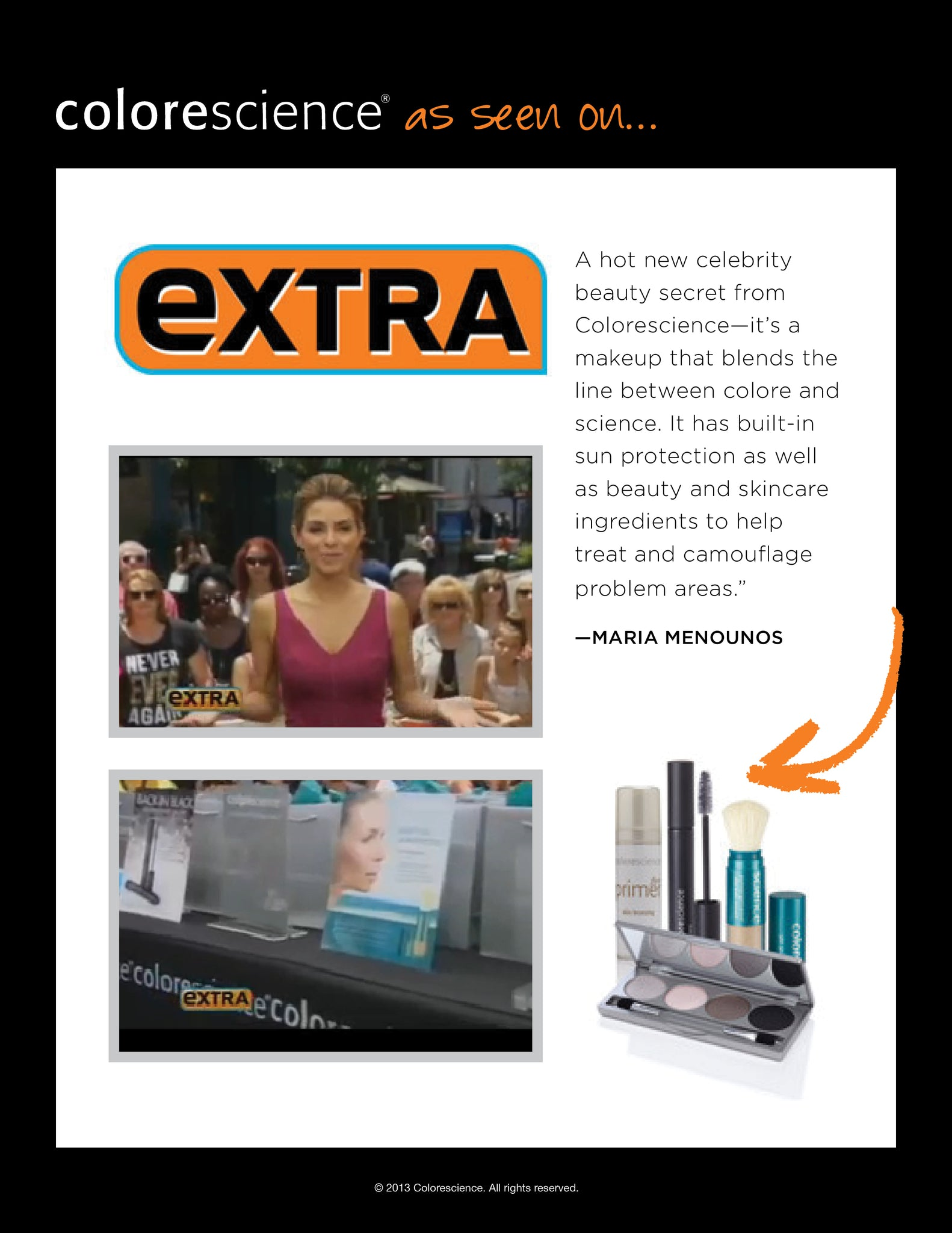 Colorescience on Extra TV