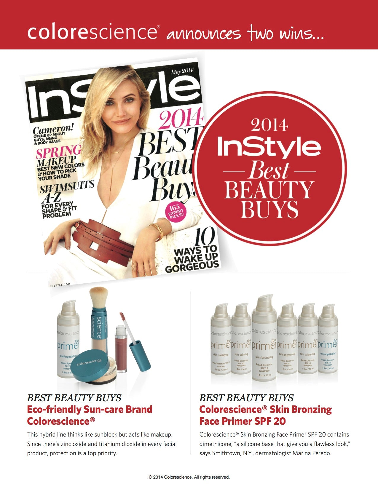 2014 InStyle Best Beauty Buys