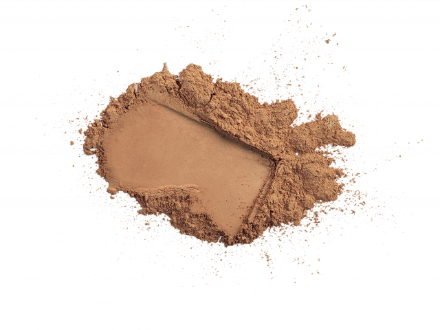 Loose Mineral Foundation Brush SPF 20 || tan golden