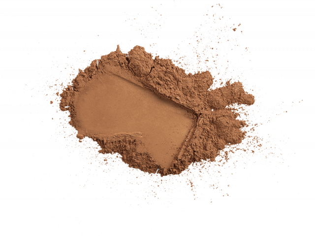 Loose Mineral Foundation Brush SPF 20 || deep mocha