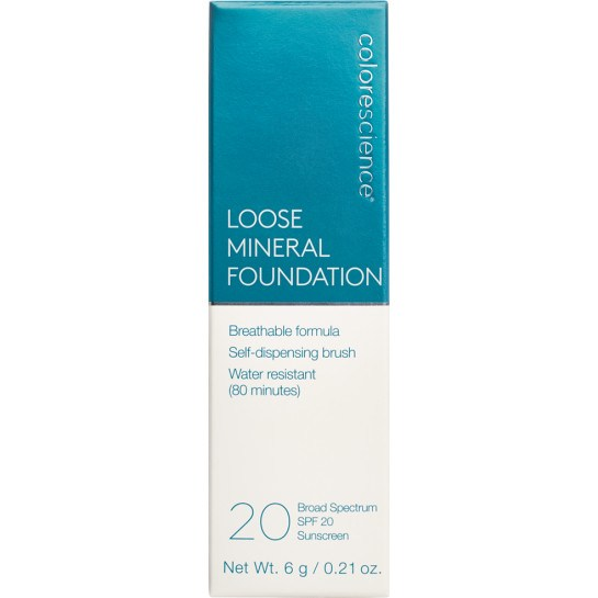 Loose Mineral Foundation Brush SPF 20 Box || all