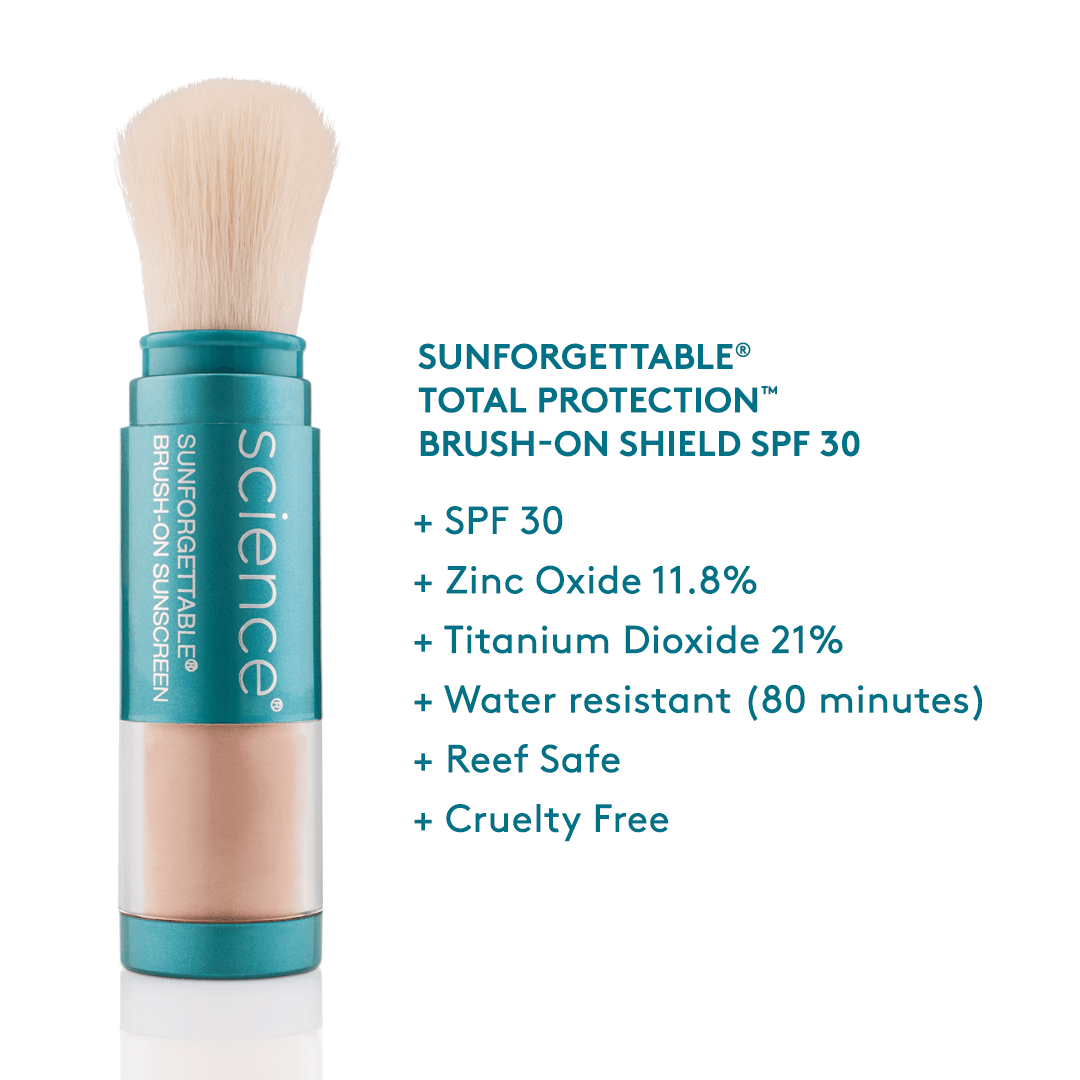 Sunforgettable® Brush-on Sunscreen SPF 30 ||  SPF facts