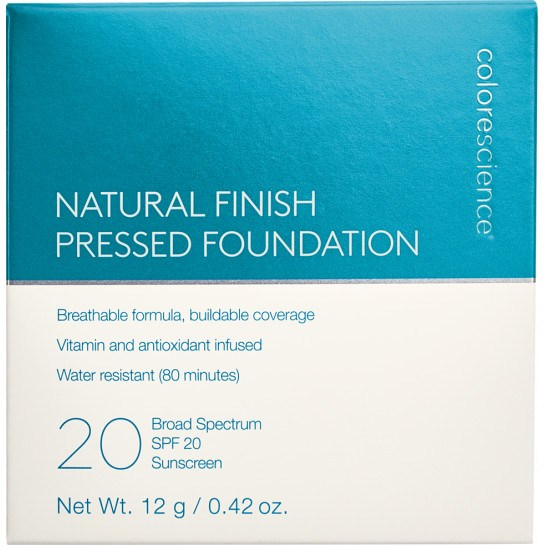 Natural Finish Pressed Foundation SPF 20 box || all