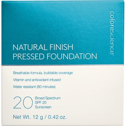 Natural Finish Pressed Foundation SPF 20 box