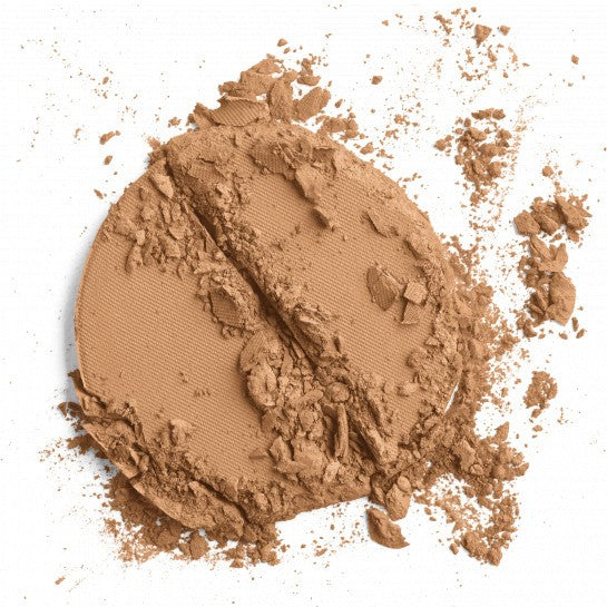 Natural Finish Pressed Foundation SPF 20 pressed powder || tan golden