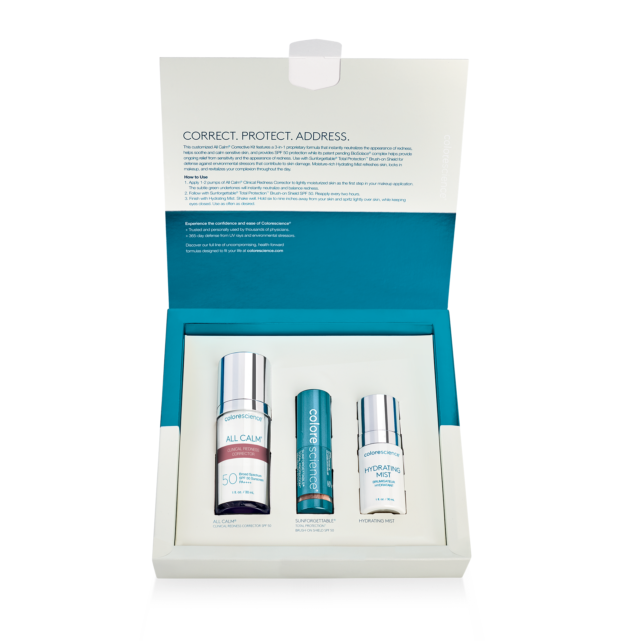All Calm® Corrective Kit For Redness || all