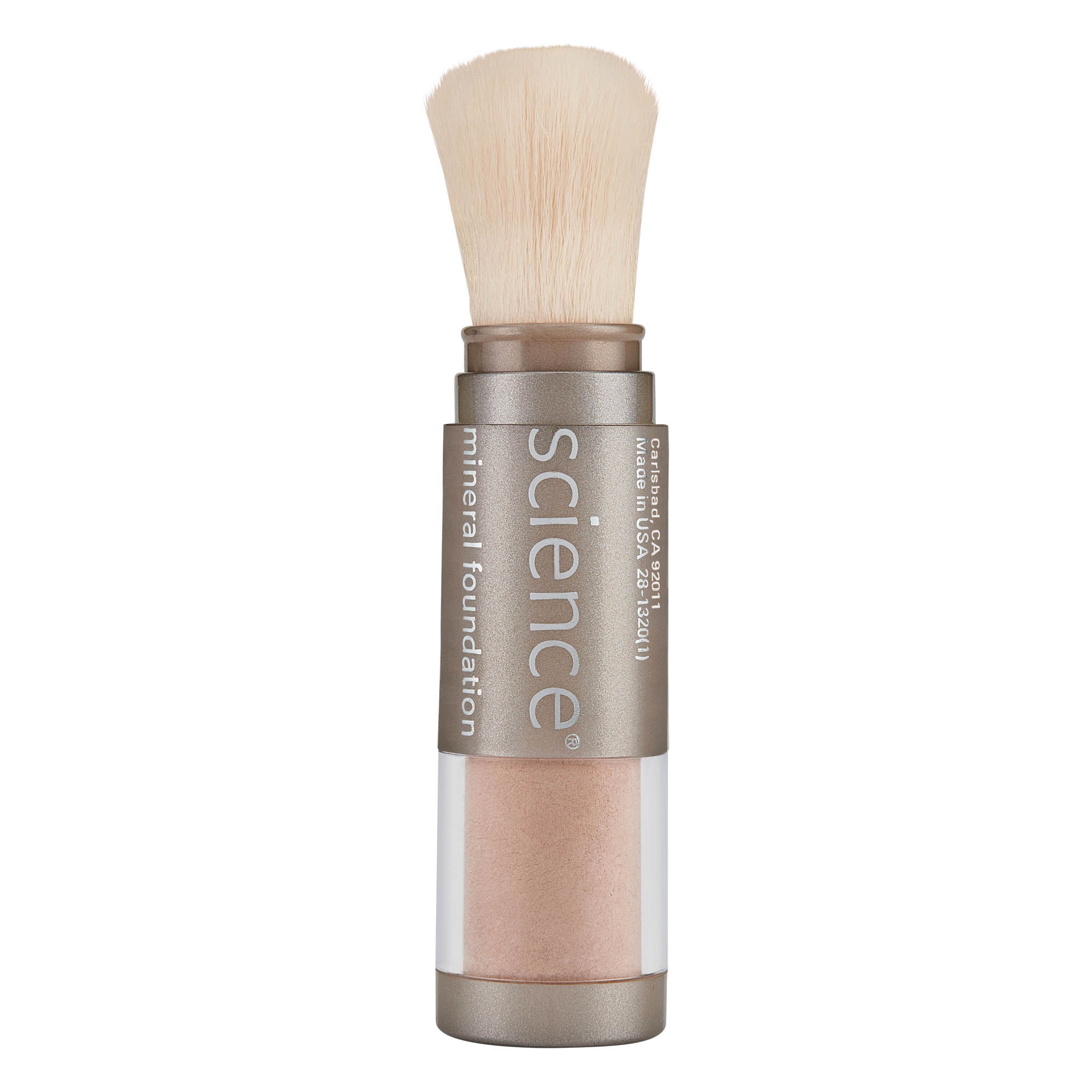 Loose Mineral Foundation Brush SPF 20 || hide