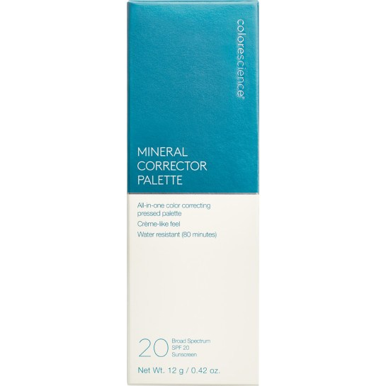 Mineral Corrector Palette SPF 20 box || all
