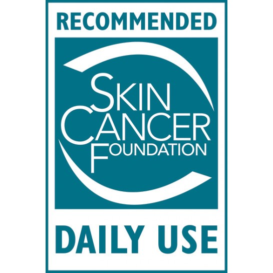 Skin cancer foundation seal - daily use || all