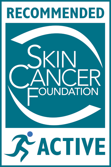 Skin Cancer Foundation Active Recommended Seal