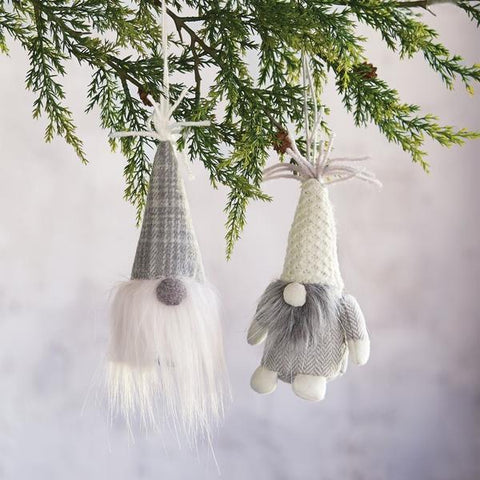 Neutral Gnome Christmas Ornaments