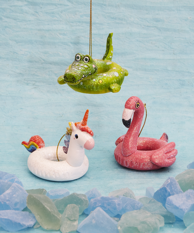 Floatie Animal Ornaments