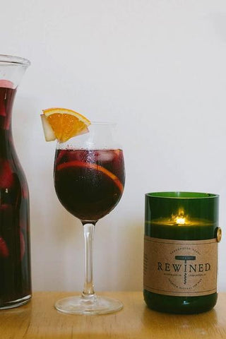 Rewined Sangria Scented Candle