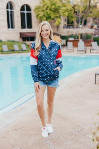 Simply Southern Pullover Rain Jacket