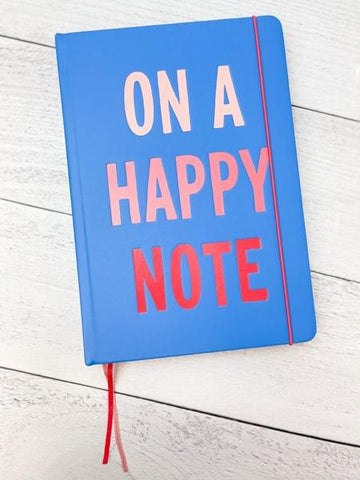 'On A Happy Note' Kate Spade Notebook