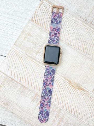 Apple Smart Watch Band by Simply Southern - Paisley