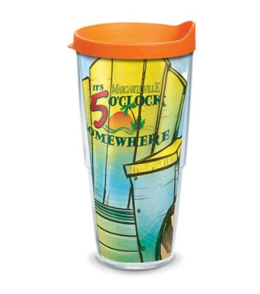 Margaritaville Double Wall Tumbler with Lid by Tervis