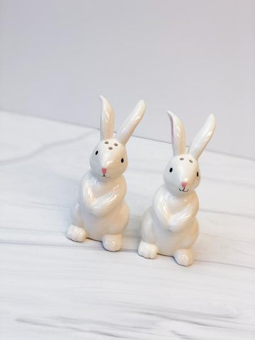 Bunny Salt and Pepper Shaker Set