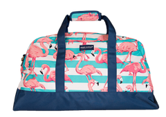 Flamingo Print Duffel Bag by Simply Southern