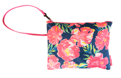 Hibiscus Wet/Dry Bag Wristlet by Simply Southern