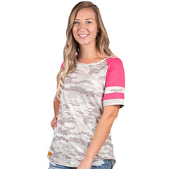 Infield Top by Simply Southern - Camo