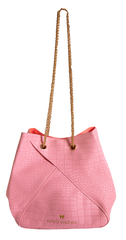 Solid Bunchy Bag by Simply Southern - Pink