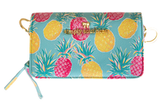 Printed Phone Crossbody by Simply Southern - Pineapple