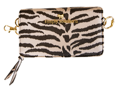 Printed Phone Crossbody by Simply Southern - Zebra