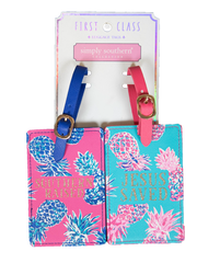 Pineapple Luggage Tag Set by Simply Southern