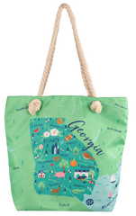 'Georgia' Canvas Tote by Simply Southern