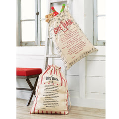 Give Back Sacks by Mud Pie - Choice of Style