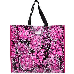Floral Pineapple Market Tote by Simply Southern