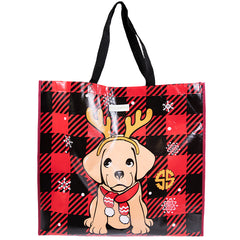 Holiday Puppy Market Tote by Simply Southern
