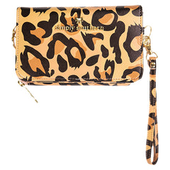 Leopard Convertible Phone Crossbody by Simply Southern