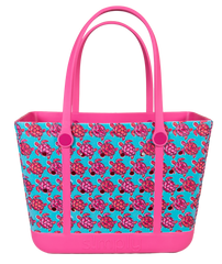 Printed Large Tote by Simply Southern - Turtles