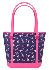 Printed Small Tote by Simply Southern - Dogs