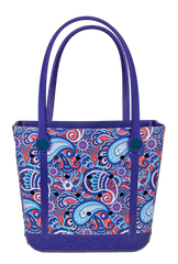 Printed Small Tote by Simply Southern - Paisley